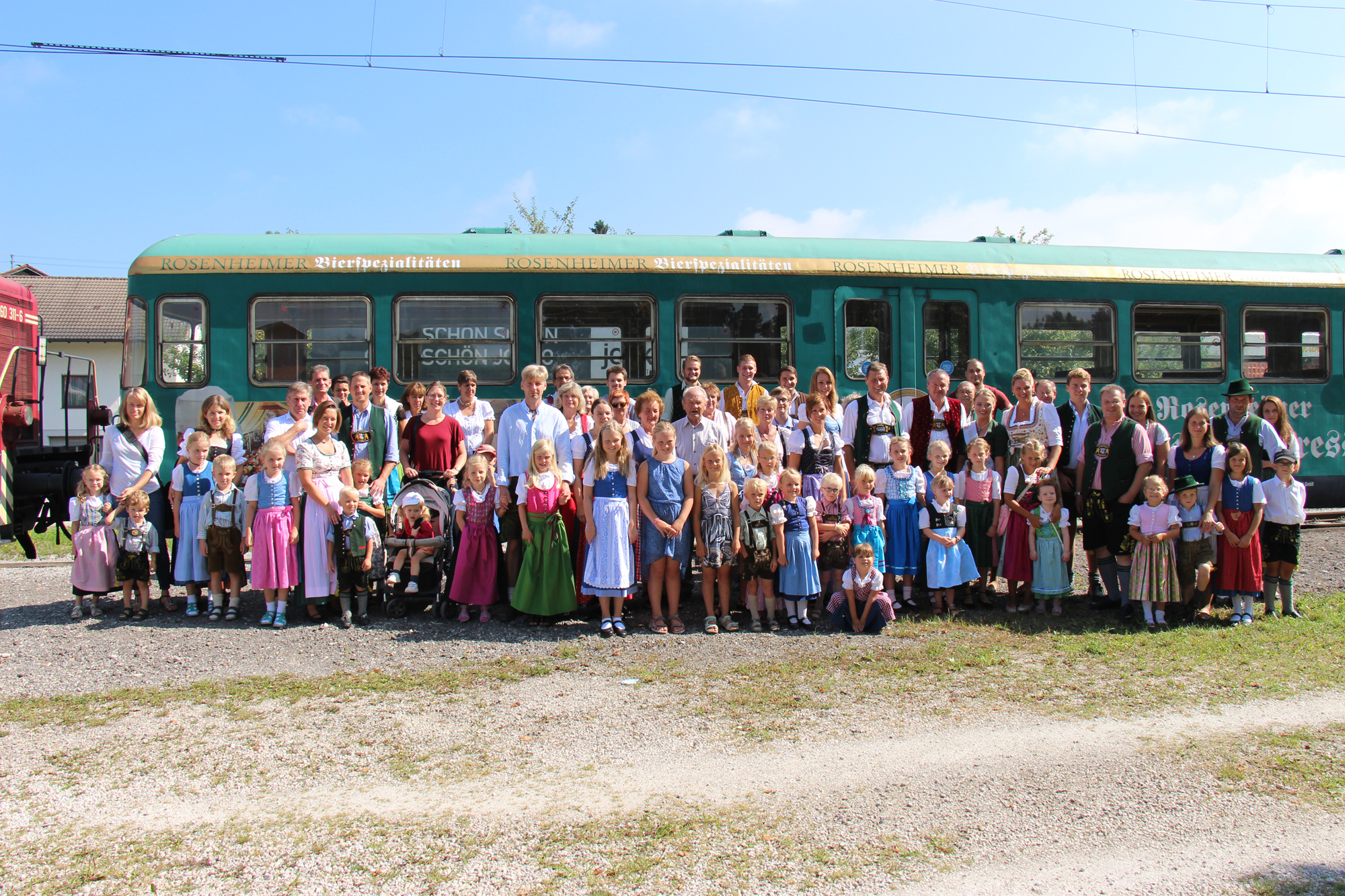 gewerbeverband wiesn Express 2016 gruppenbild